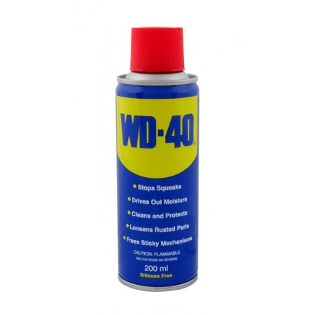 WD-40 spray